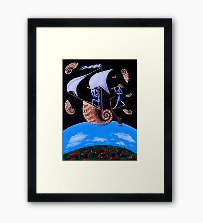 Magic Flight Framed Print