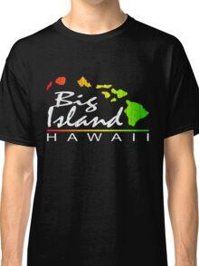 Big Island Hawaii (vintage distressed design) Classic T-Shirt