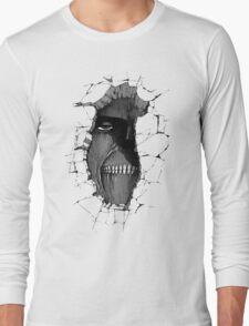 Titan in the wall Long Sleeve T-Shirt