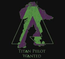 Titan Pilot Wanted! Groovy Green by Hilly14HD