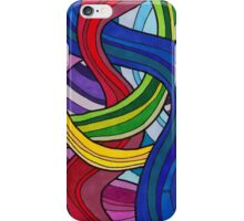 SJK Colorful Psychedelic Design iPhone Case/Skin