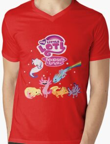 My Little Lotl Mens V-Neck T-Shirt
