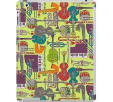 weave jazz multi iPad Case/Skin