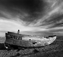 Dungeness Old Abandoned fishing boat and sheds 3 by WillG