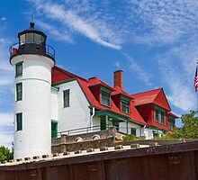 Point Betsie Light by Kenneth Keifer