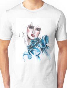 Filing Blue? by Elina Sheripova Unisex T-Shirt