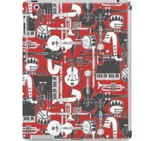 weave jazz red iPad Case/Skin