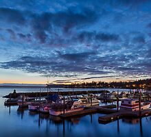 Tulalip Bay Twilight  by Jim Stiles