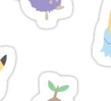 chibi pokemon - yellow Sticker