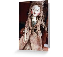Rare Collectable Victorian Vintage Doll Greeting Card