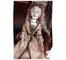 Rare Collectable Victorian Vintage Doll Poster