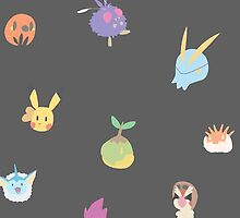 chibi pokemon - black by pokegirl93