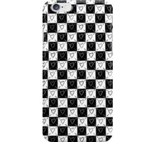 Checker Board Hearts iPhone Case/Skin