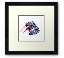 Lazorgator Framed Print
