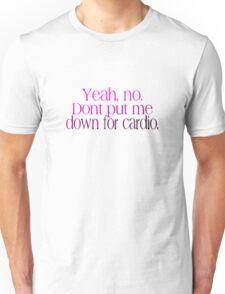 No Running Unisex T-Shirt