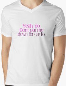 No Running Mens V-Neck T-Shirt