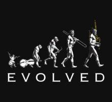 Bagpipe Evolution Baby Tee