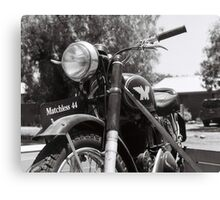 Matchless Motorcycle Canvas Print
