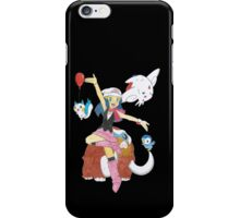 Dawn and her pokemon iPhone Case/Skin