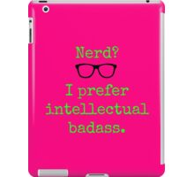 Intellectual Badass  iPad Case/Skin