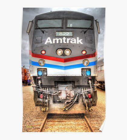 Amtrak Poster