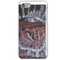 abstract hand. color scheme collection iPhone Case/Skin
