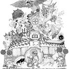 twitch plays pokemon red; the adventure remains! (black and white) by engraven