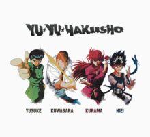 YuYu Hakusho by theguyontheleft
