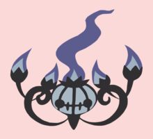 Chandelure Minimalist by ParadoxZeroe