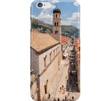Strolling Up Stradun iPhone Case/Skin
