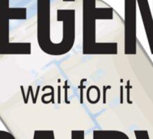 LegenDairy Sticker
