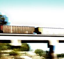 Train Blur Sticker