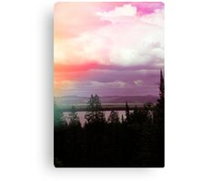 Leak Landscape Canvas Print
