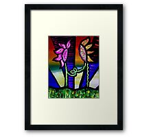 Soul Fusion Sunflowers Framed Print