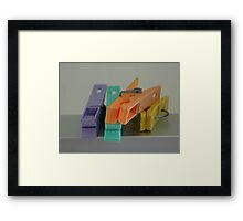 ©HS Laundry Day IA Framed Print