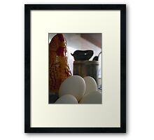 ©HS On The Kitchen IIA Framed Print