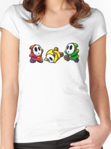 Shy Guys Women's Fitted Scoop T-Shirt