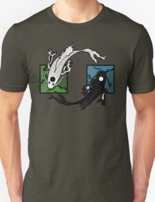 Push & Pull (Green/Blue) Unisex T-Shirt