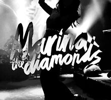 Marina and The Diamonds Logo by vivaladiamandis
