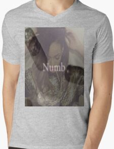 rihanna-numb  Mens V-Neck T-Shirt