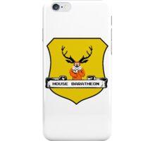 House Baratheon 8-bit Emblem iPhone Case/Skin