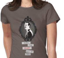 Moriarty Will Burn You Womens Fitted T-Shirt