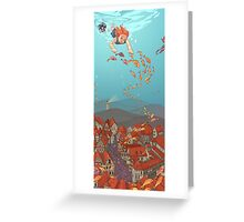 Fishville Greeting Card