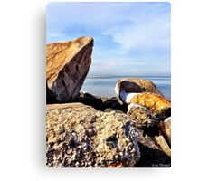 Rocky North Shore Canvas Print
