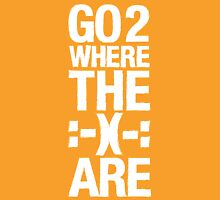 Go 2 Where The Smiles Are. :-) : Universal T-Shirt Unisex T-Shirt