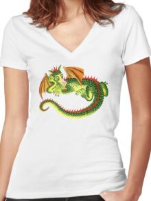 Draggin' Women's Fitted V-Neck T-Shirt