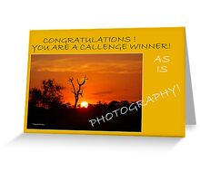 ENTRY FOR BANNER CHALLENGE Greeting Card