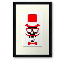 Gentleman Vampire Framed Print