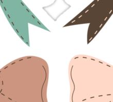 Bows Sticker