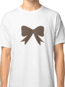 Brown bow Classic T-Shirt
